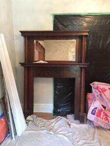 Original Century fireplace