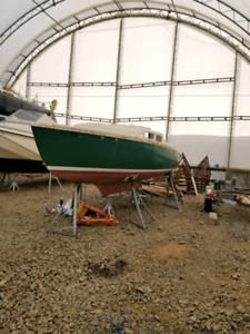 20 foot sailboat project