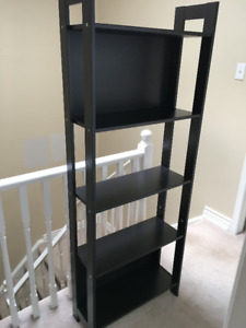 Bookcase dark brown, IKEA Laiva