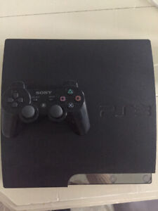 PS3 fat with controller