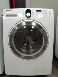 """27"""" SAMSUNG FRONT LOAD WHITE WASHER"""