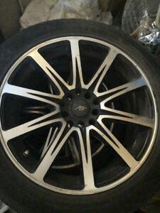 225/50r17 Honda Accord Mag - Tire 4season - USED