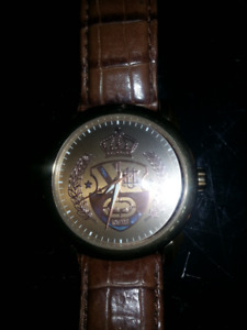 Authentic Marc Ecko Watch leather and rose gold