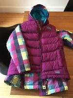Manteau + veste North Face 10-12 ans