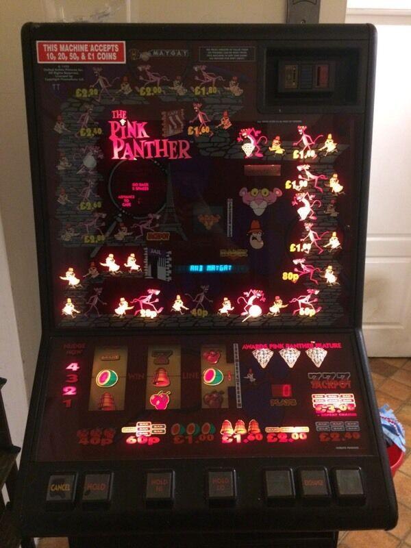 Slot machine pink panther
