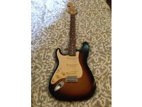 Squire Strat by Fender left handed