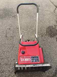 Snow Blower (single stage) Toto S 200,Electric starter