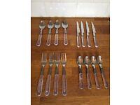 Transparent handle Cutlery