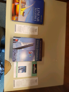 Brand new first year engineering books