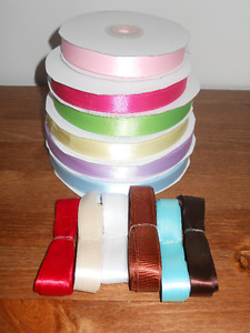 about 350 Yards 5/8 Satin Ribbon