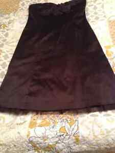 R&W brown formal dress