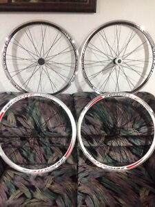 Brand new 700c Vuelta Zero Lite Road Bike Wheels 1-10spd rims