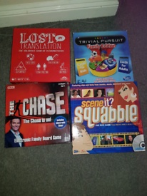 Board Games for Christmas ×4