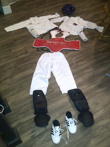 sparring gear - complete outfit (child size) Kitchener / Waterloo Kitchener Area image 1