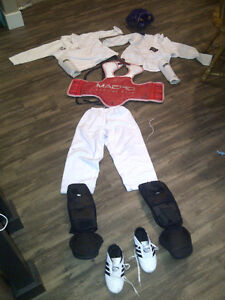 sparring gear - complete outfit (child size)