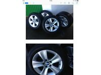 BMW alloys with 225/55R17 Dunlop winter tyres