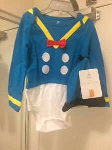 Donald Duck Costume Disney 18-24 months boys NWT
