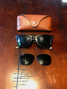 Ray Ban Original Wayfarer - Polarized - 2 Sets of Lenses