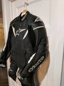 Manteau de cuir moto Alpinestars GP-R sz.50