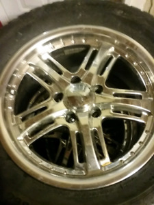 Cadillac  sts mags and winter TIRES in new condition