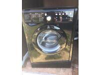 Indesit 8kg Black Washing machine in mint condition