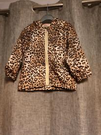 Baby girl's leopard jacket BNWOT