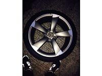 Genuine Audi alloy 255/35/19 19 inch wheel