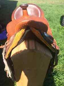15 inch, Billy Cook Genuine Saddle