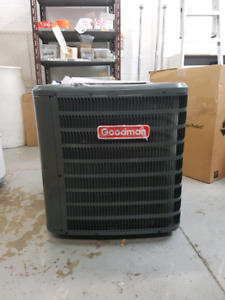 Used for 1 day 2018 2 ton goodman air conditioner