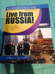 Book: Live from RUSSIA! Cambridge Kitchener Area image 1