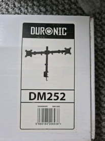 Duronic DM252 Dual Monitor Arm Stand