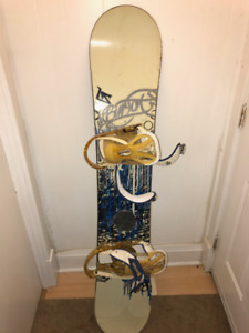 Snowboard AND  Accessories -  Lightly used!