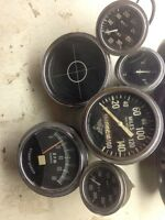 Stewart and warner vintage gauges.