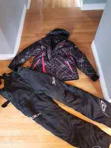 Women's FXR vertical snow suit size 12