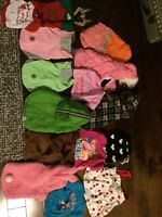 Assorted dog clothes