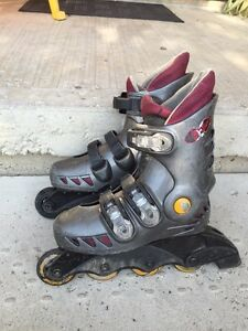 Kids rollerblades Kitchener / Waterloo Kitchener Area image 1