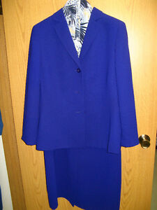 Size18 - Lined Jacket over lined sleeveless dress-Pristine cond.