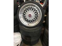 """4 17"""" alloy wheels Alloys Rims 4x100 4x108 Vw Volkswagen vauxhall mini ford tyre tyres"""