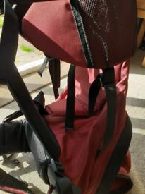 Toddler child carrier backpack