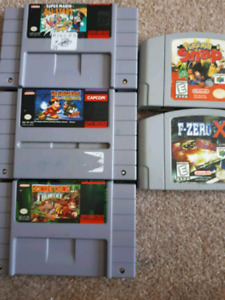SNES and N64 Games