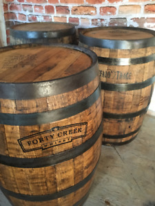Wine or Whiskey Barrel with Your Logo