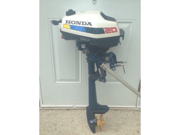 1988 Honda four stroke 2 hp