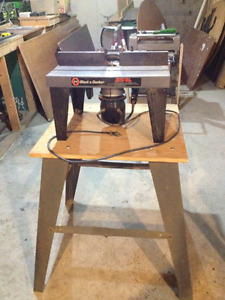 Craftsman Electronic Router