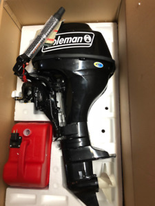 9.8 hp COLEMAN 4 stroke, Outboard engine