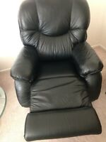 Full Leather Rocking Lazy Boy Recliner