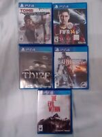 Either Selling or Trading PS4 Games