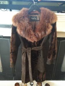 Alaska Seal fur coat