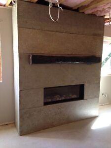 Smoothcrete tops, floors, fireplaces London Ontario image 2