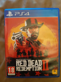 Red dead redemption 2 PS4 full game with data disc too