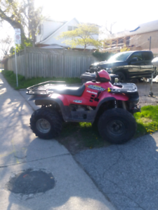 400cc Polaris 4x4 ATV